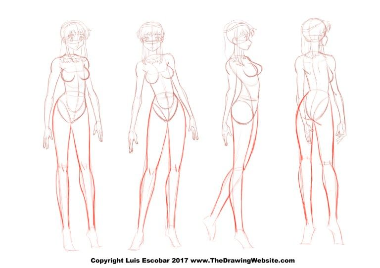 Takahiro Kimura Female Anime Legs Turnaround The Drawing Website Cartoon Legs Female Anime Drawing Legs