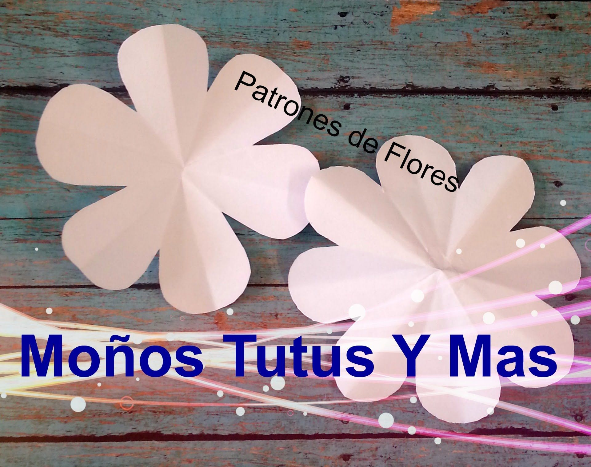 HACIENDO PATRONES DE FLORES Paso a Paso FLOWER PATTERNS Tutorial ...