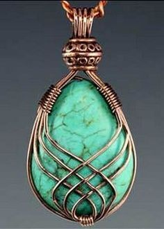 wire wrapped stones   JEWELRY: Wire Work   Pinterest   Wire ...