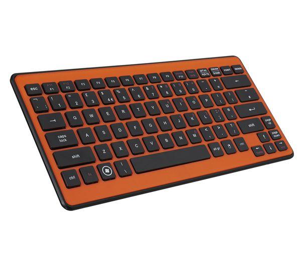 Logik Lk212o Wireless Keyboard Orange 14 99 Keyboard Pc Accessory Orange