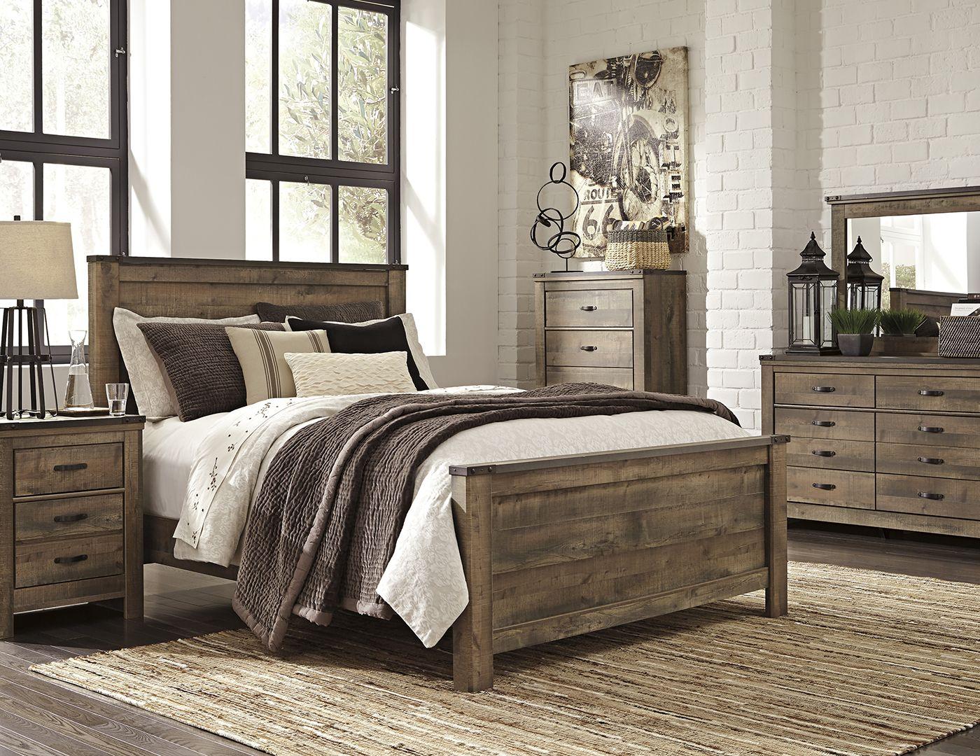 Trinell pc queen bedroom set queen bedroom sets queen bedroom