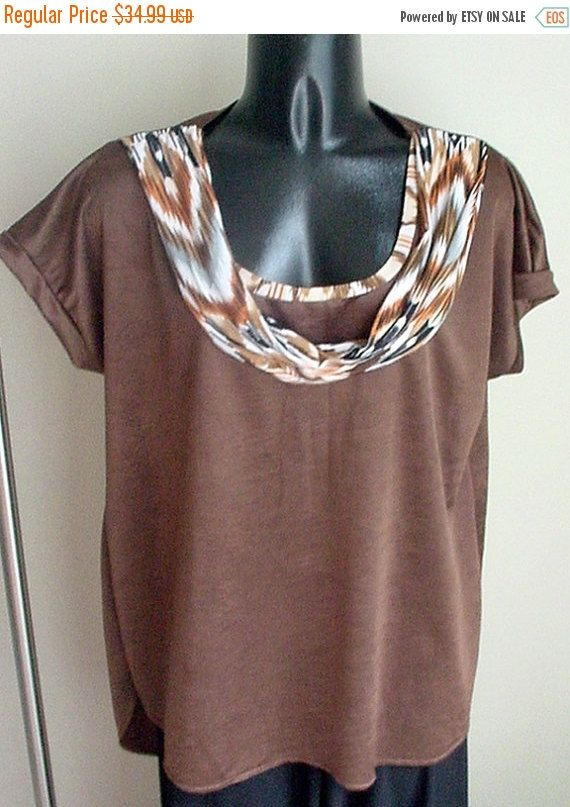 SALE-SAVE 15% Custom Made One-of-a-Kind Woman's brown by Herwear