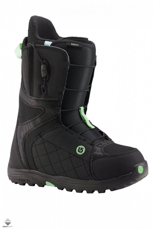 Buty Snowboardowe Damskie Burton Mint Black Mint 10627101017 Boots Snow Boots Women Snowboard Boots