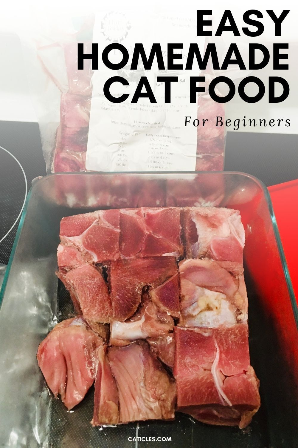 Easy homemade cat food plus supplements options caticles