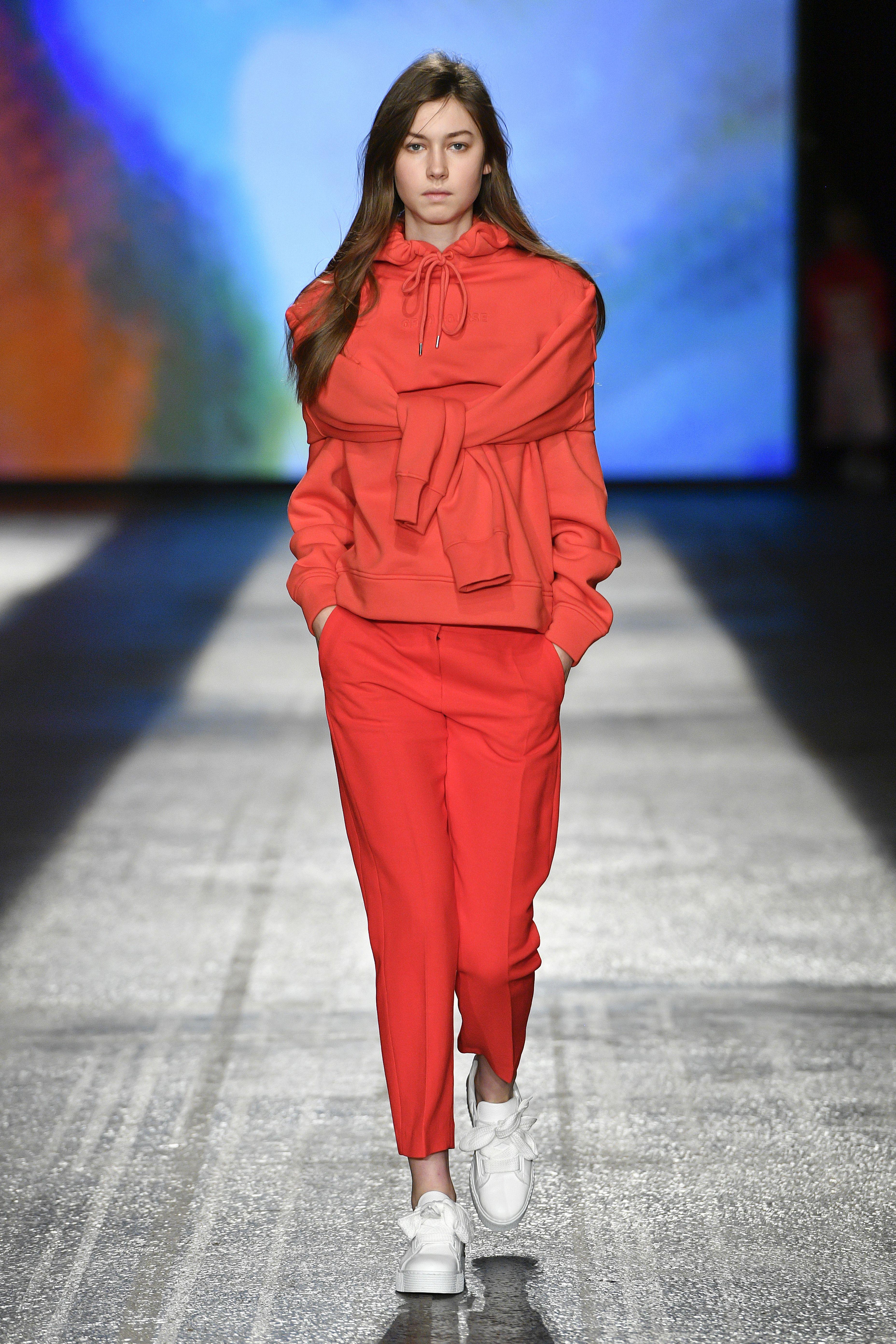 Scarlet O N Kelsey Hoodie Jaya 10059 Sweatshirt Flame y7gY6fvb