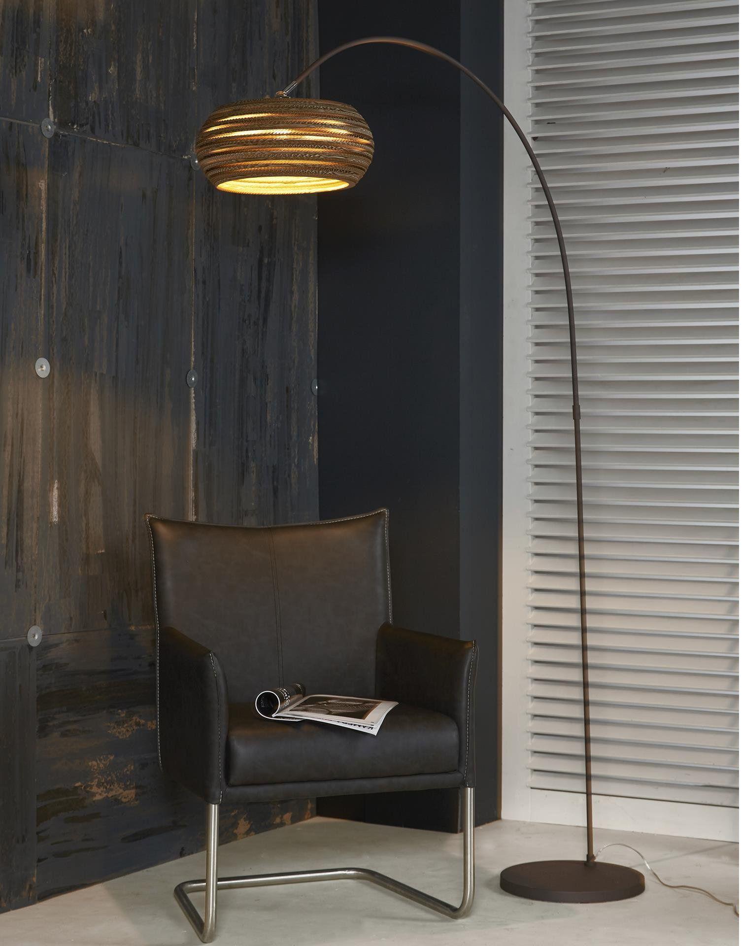 deze divalii carta arco vloerlamp kopen voor 13950 elegante booglamp met kartonnen