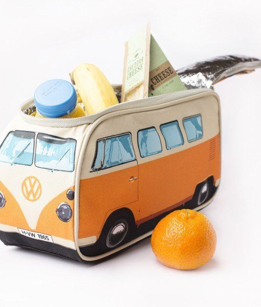 6a68ebeb998 VW Bus Lunch Bag. Insulated bag that looks like the Volkswagen Bus –  DasStuff.com