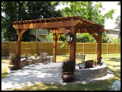 Backyard Arbors Ideas pergola ideas for small backyards Creative Design Space Jacksonville Custom Outdoor Kitchens Summer Kitchens Backyard Design Outdoor Pergolapergola Ideaspatio