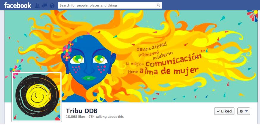 Facebook Cover Día Internacional de la Mujer 2013 Tribu 2
