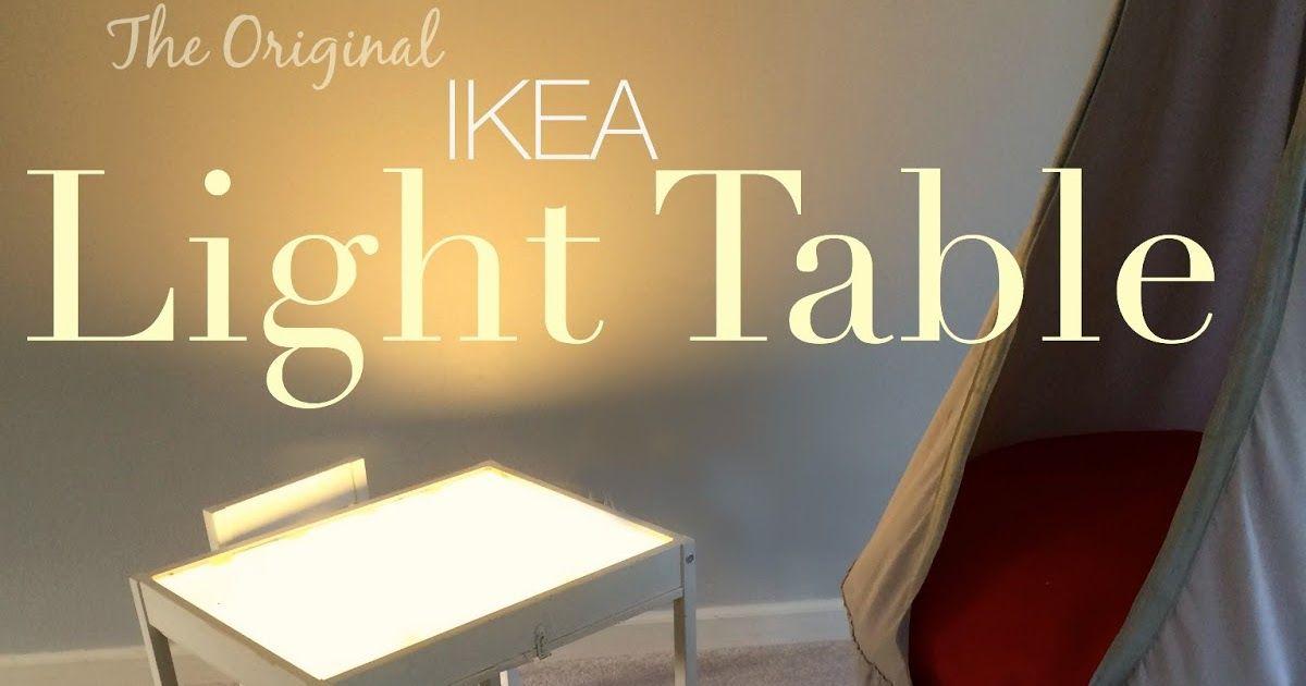 The Original Diy Inexpensive Ikea Light Table