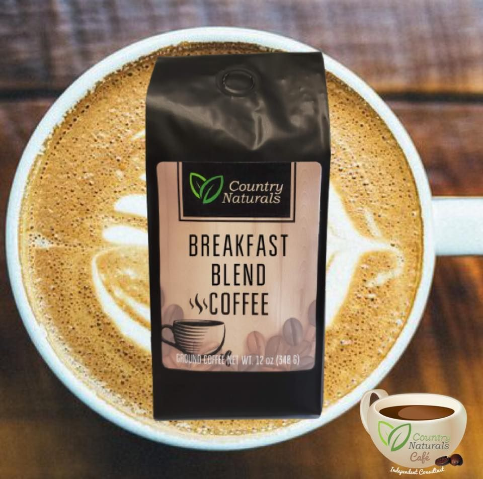 Breakfast Blend Gourmet Coffee from Country Naturals