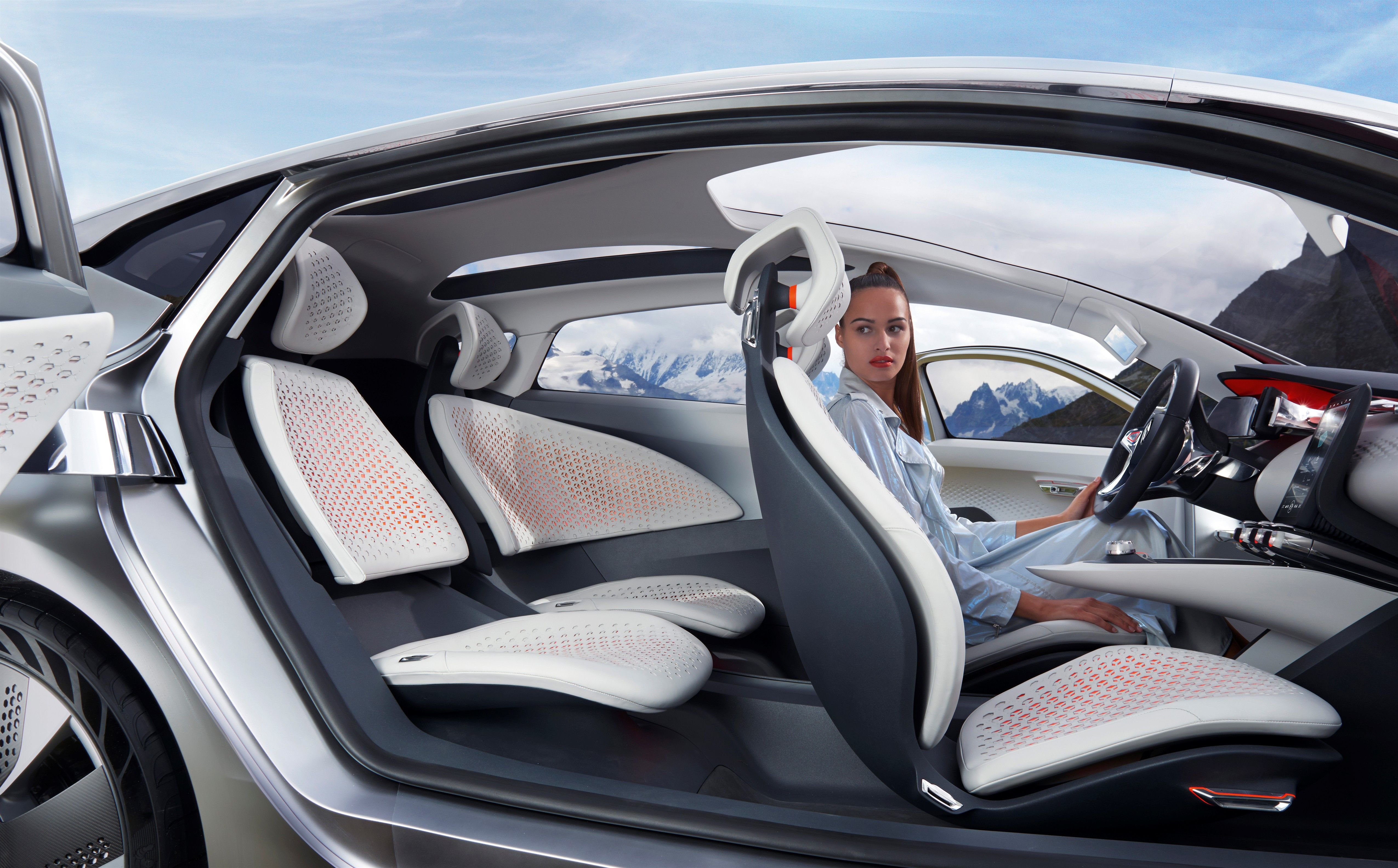 Renault presents eolab a new prototype which explores - Ways to customize your car interior ...
