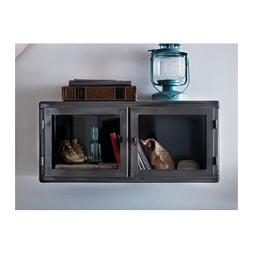 RÅskog Wall Cabinet From Ikea Packs A Lot Of Style For Small Price Thinking Ways To Maybe Incorporate Something Like This Into Sill Height Plant