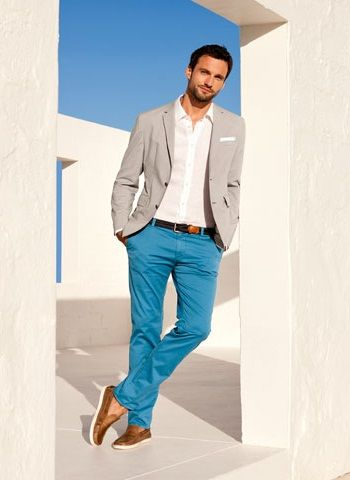 6f300175b1c8 Not sure 'bout the shoes, but the rest is great. #menswear #style #spring/ summer #color