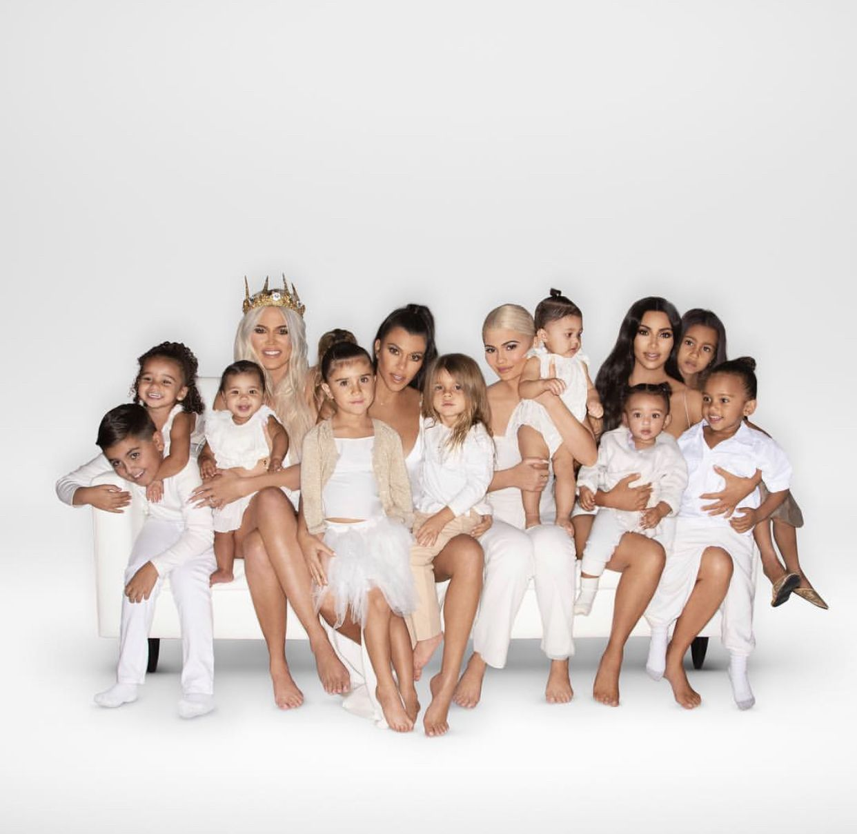 2018 Christmas Card Kardashian Jenner Christmas Card Kardashian
