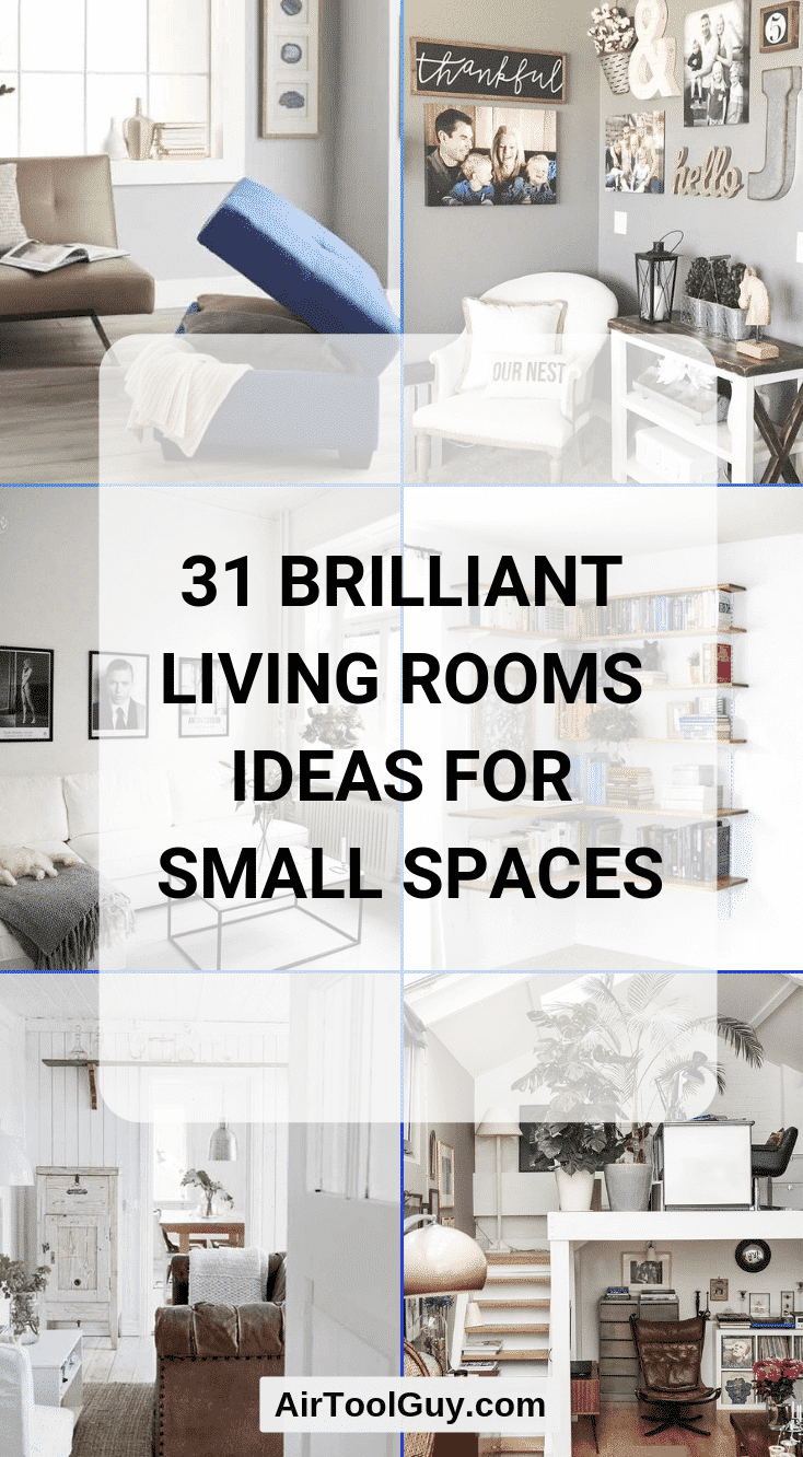 31 Brilliant Living Rooms Ideas For Small Spaces Equipment