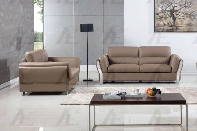 American Eagle Furniture Ae690 Tpe Taupe Sofa Loveseat Microfiber Leather Set 2pcs Modern Ae690 Tpe Set 2 Buy Online Taupe Sofa Taupe Sofa Living Room Loveseat Sofa #taupe #sofa #living #room