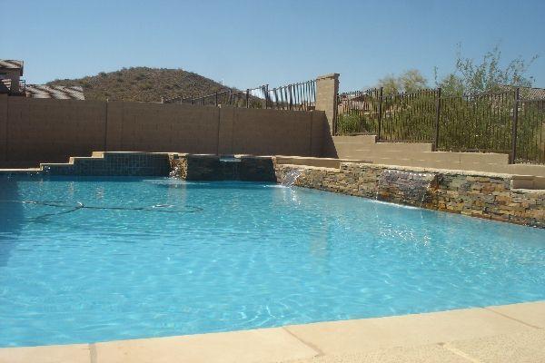 Phoenix az pool builders swimming pool swimming pool - Swimming pool contractors phoenix az ...