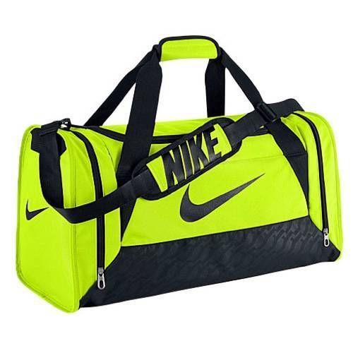 6f5094a5b0 Nike Duffel Bag Brasilia 6 Green Volt Medium Bag Gym Duffle Black Men Women  Team  Nike  Duffle  Gym  Bag  OrlandoTrend