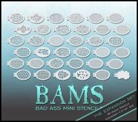 Face Painting | Body Painting | Airbrush Supplies | Arty Brush Cakes | Rainbow Cakes | Clown Supplies | Silly Farm Supplies Inc.: BAM 2000 Expansion Set Bad Ass Mini Airbrush Stencil