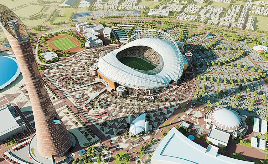 Qatar 2022 Projects Will Be Delivered On Time Sc All Projects Related To The 2022 Fifa World Cup Will Be Delive World Cup Stadiums World Cup Match World Cup