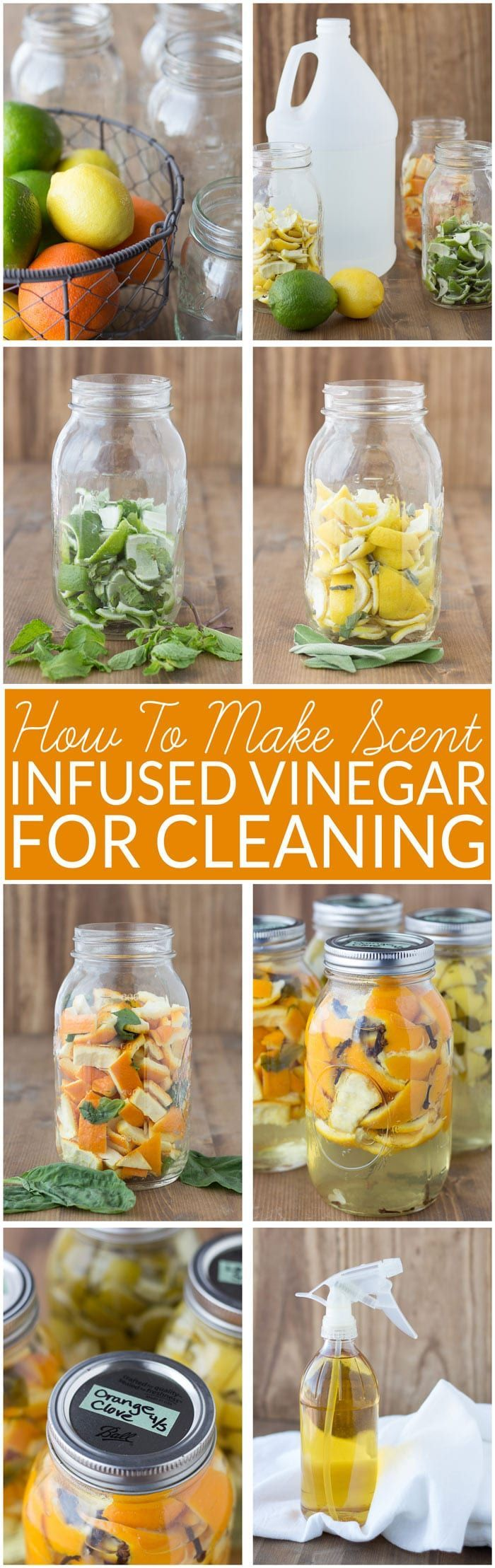 How To Make Scented Vinegar For Cleaning I Wanna Be