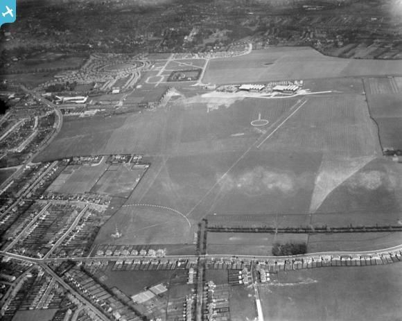 Croydon Airport, South Beddington, 1932