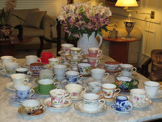 Because I had to share my teacup collection.