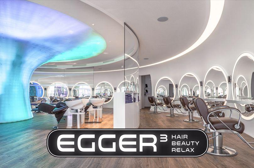Erleben Sie auf 400m2 die neue Dimension von Haare, Schönheit und Entspannung. Herzlich willkommen! --- Egger3 Hair Beauty Relax, Lustenau, Friseur und Beauty-Salon. 4fach Flagship-Salon: Reden, Nouba, Essie Professional, Takara