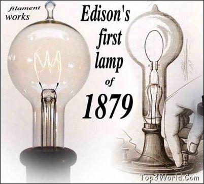 Thomas Edison Light Bulb Patent The lightbulb thomas edison ...