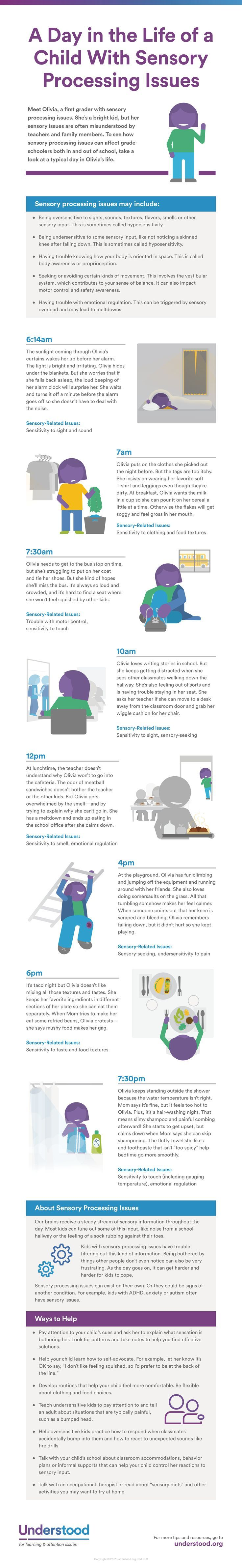 How Sensory Processing Issues Affect >> A Day In The Life Of A Child With Sensory Processing Issues