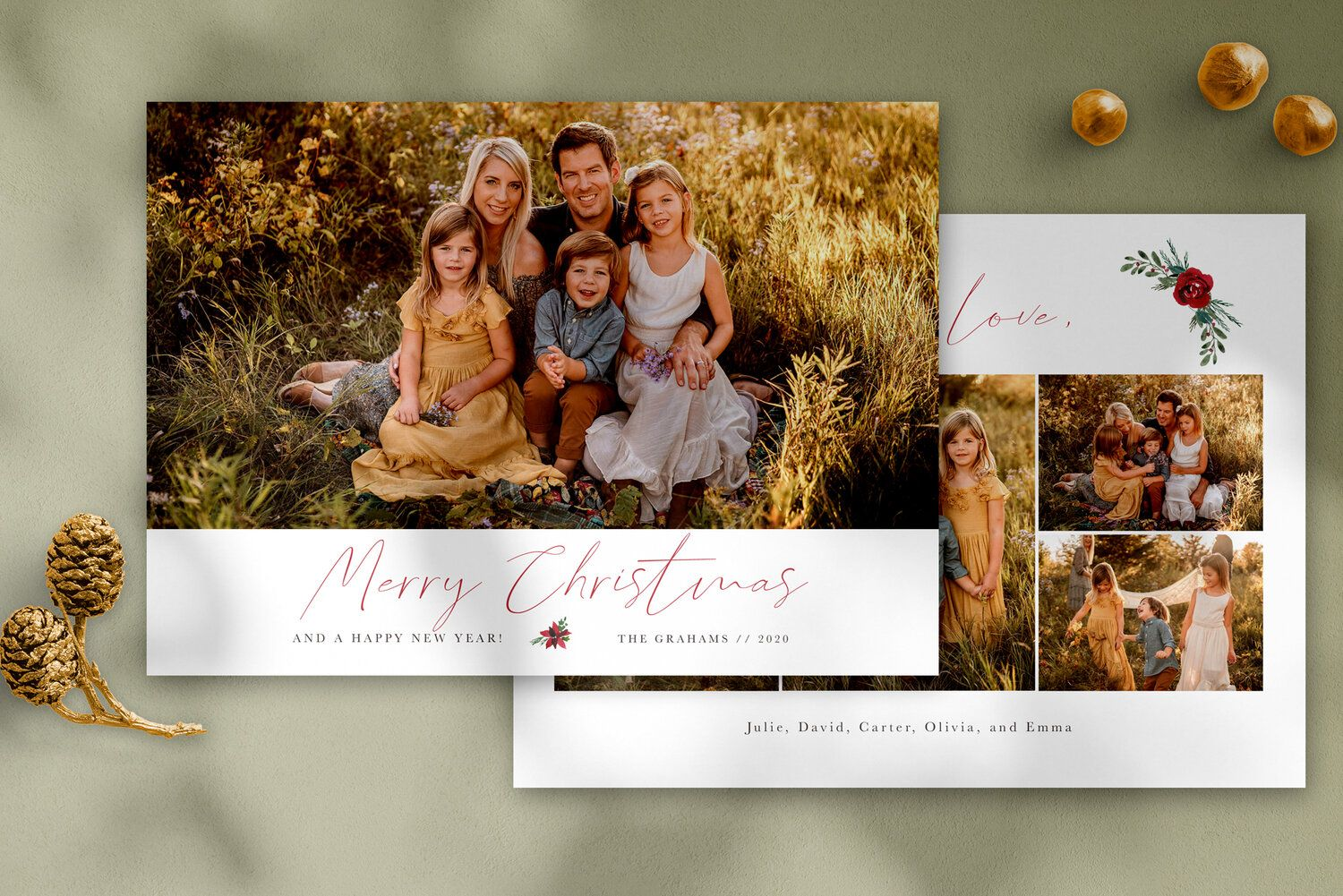 Merry Christmas Photo Card Template Free Matching 3x3 Ornate Ornament Christmas Photo Card Template Photo Card Template Christmas Photo Cards