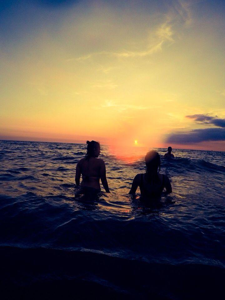 Sunset At Crystal Beach Resort Zambales Islands The