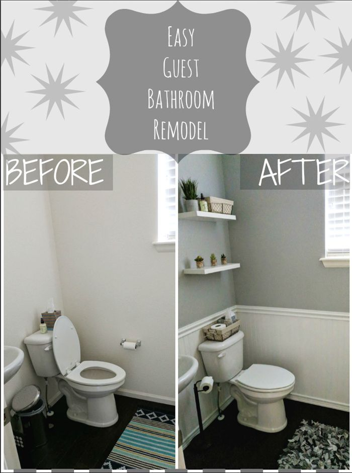 Simple DIY Bathroom Remodel - With Our Best - Denver Lifestyle Blog