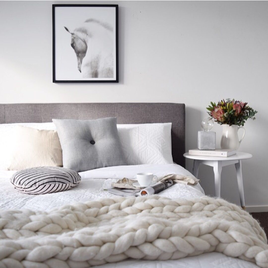 Innenausstattung schlafzimmer  Pin von Lina Löfqvist auf Inredning | Pinterest | Kissen ...