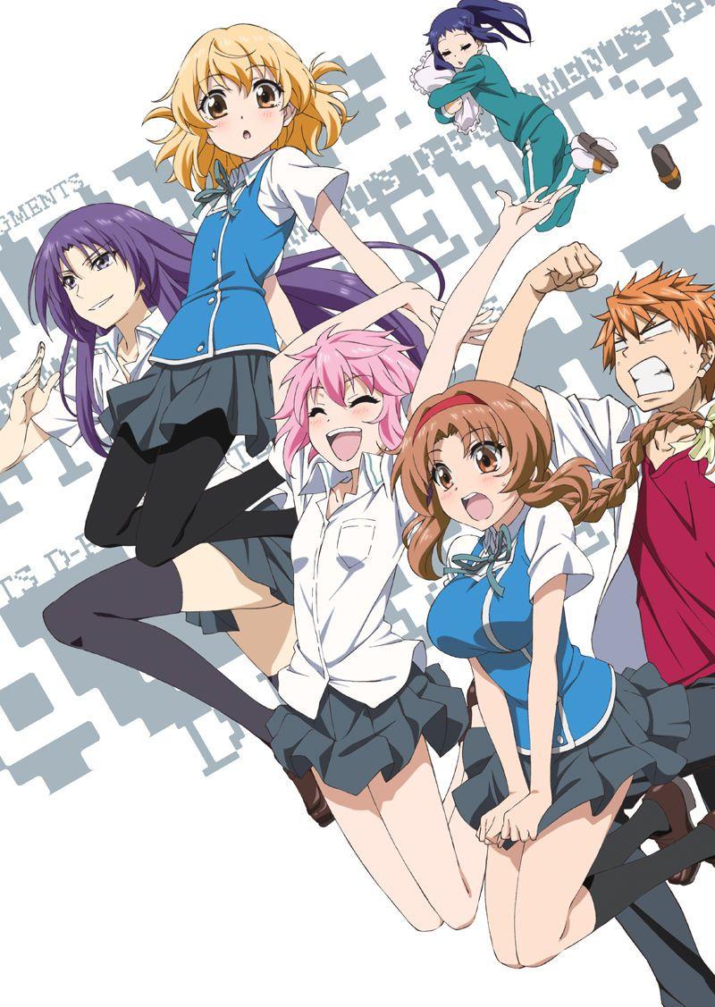 D Frag Genres Comedy Game School Seinen D Frag Anime