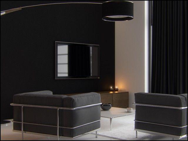 Interior visualizations of a 70m2 flat | PressEnter Design
