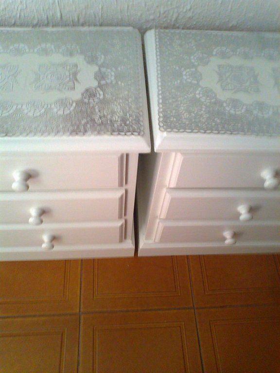 voy a pintar todos mis muebles rsticos de blanco as como las puertas
