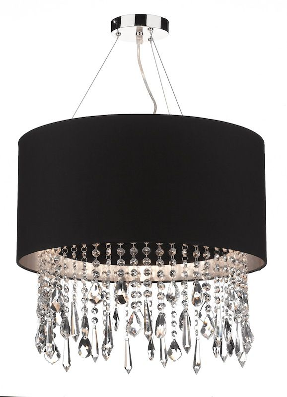 Idea For Living Room Fitting Change Shades To Outer Black With Silver Inner