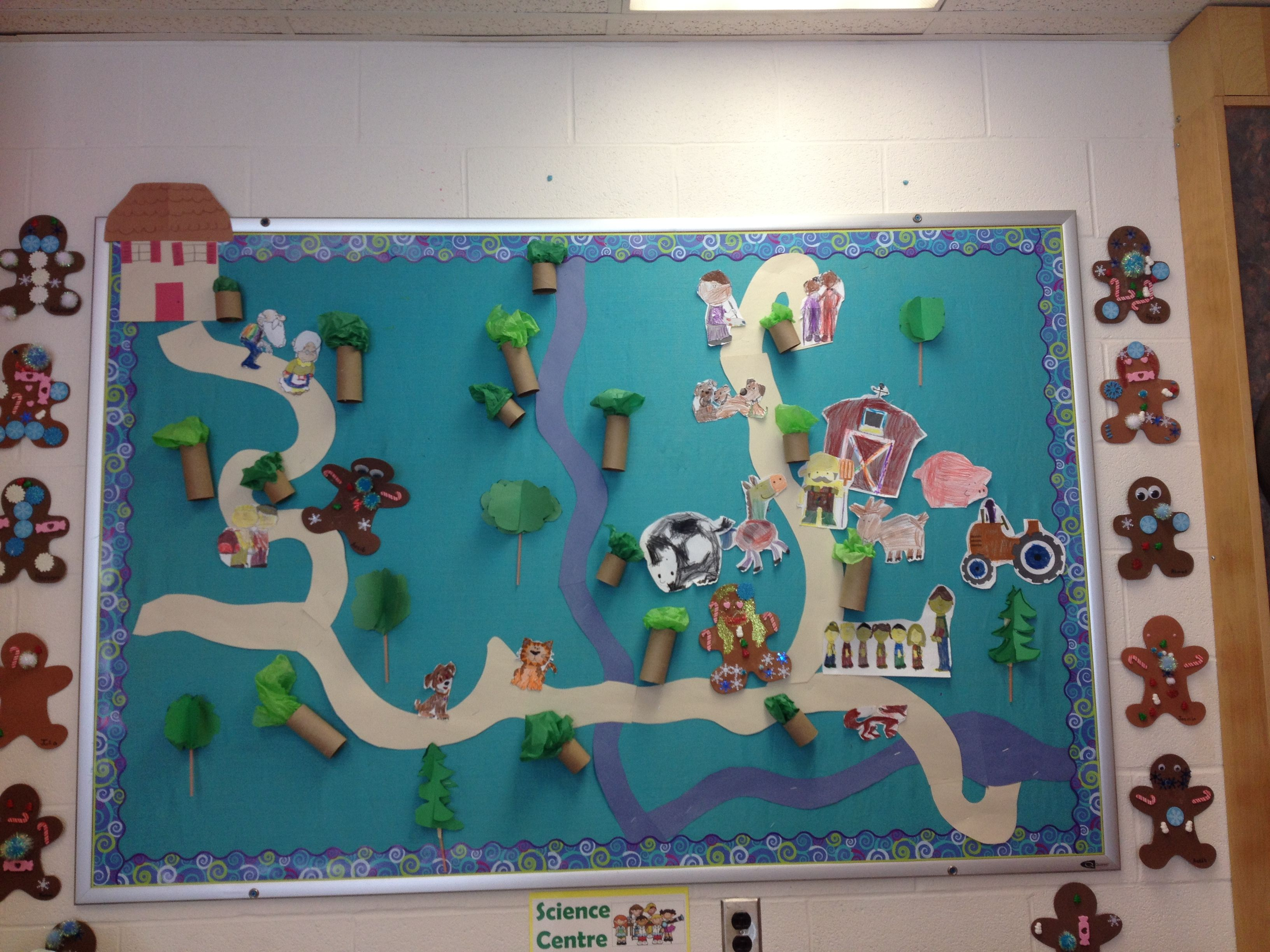 Gingerbread Man Story Map