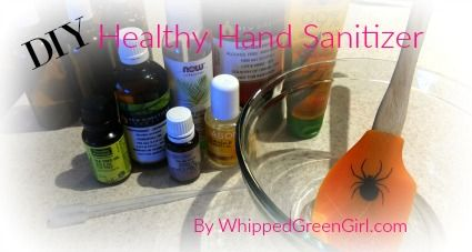 Healthy Hand Sanitizer Hand Sanitizer Essential Oil Supplies
