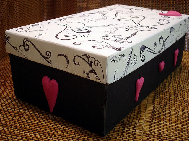 Decorate Shoe Box Valentine's Day Shoe Box  Box Diy Ideas And Polymer Clay
