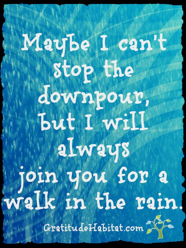 I'll Walk With You Visit Us At WwwGratitudeHabitat Stunning Thankful Quotes In Hardships