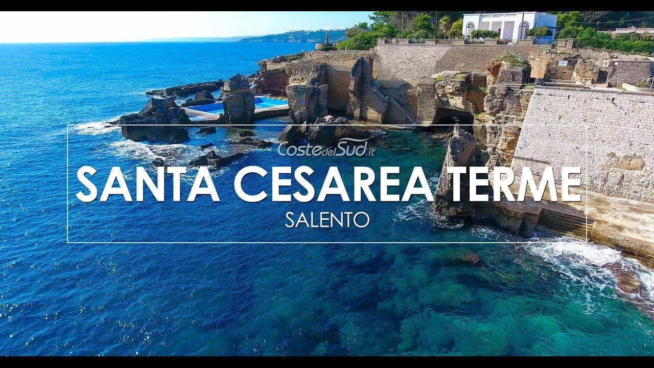 Santa Cesarea Terme Come Non L Avete Mai Vista Video 4k