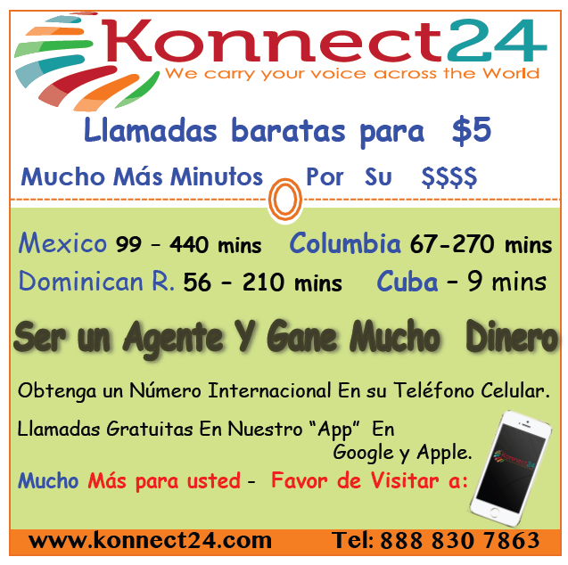 Konnect24 provides cheap pinless calling across the world
