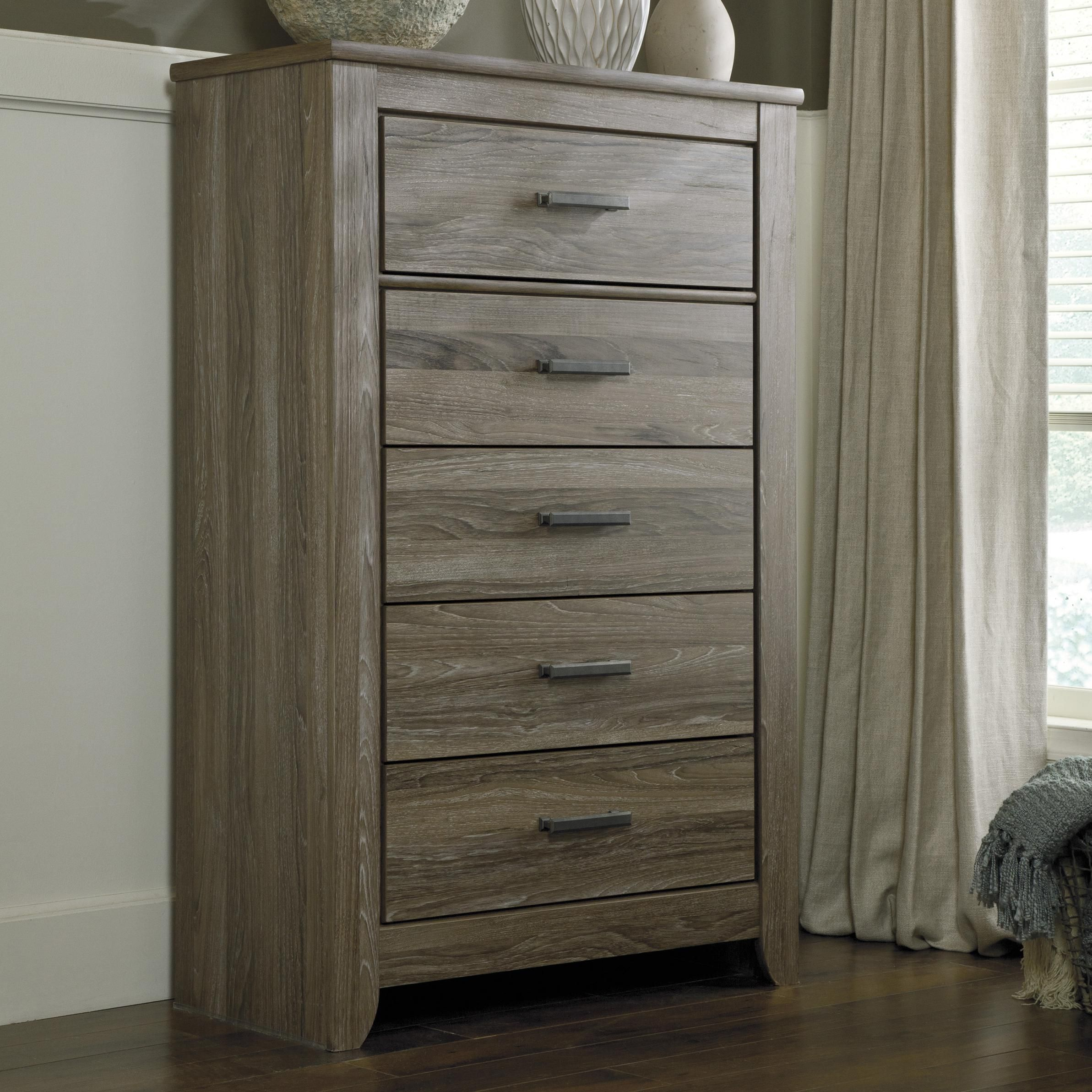 Zelen Rustic 5Drawer Chest by Signature Design by Ashley