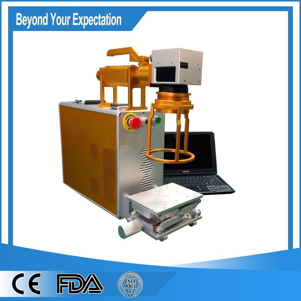 Consumable Free 10w Handheld Optical Fiber Laser Engraver Laser Engraving Machine Laser Marking Etching Machine