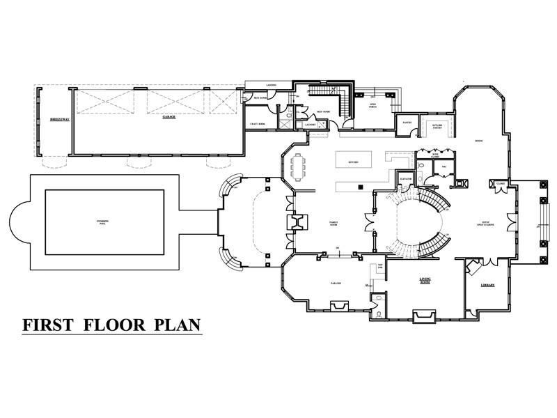 Mega Mansion Florida Style 32233AA 2nd Floor Master Suite  10 images about  House Plans on Pinterest Luxury house plans England UK and Monster house. Mega Mansion Floor Plan