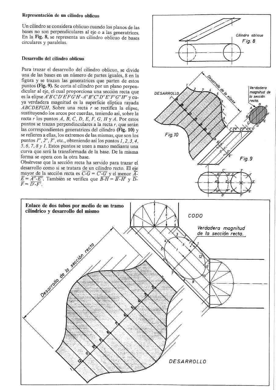 Intersecciones Y Desarrollos Trazados De Caldereria Pdf Disegni