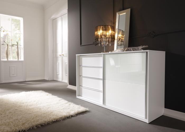 Schlafzimmer-Kommode Starlight von Nolte Delbrück...Einfach chic ...